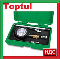 Toptul JGAI0402. Компрессометр для бензиновых двигателей, автомобильный, универсальный, топтул