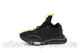 Мужские кроссовки MACCIU x Nike Zoom Type. Черные. ТОП Реплика ААА класса.