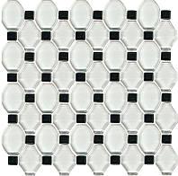 Мозаика Paradyz Secret Mozaika szklana 29,5x29,5 Bianco