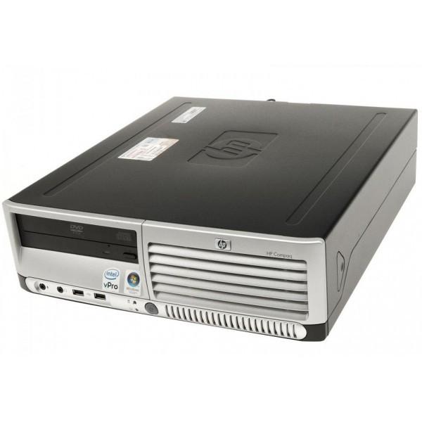 Системный блок HP Compaq dc7700-SFF-Intel-Pentium-E2160-1,8GHz-2Gb-DDR2-80Gb-DVD-R- Б/У