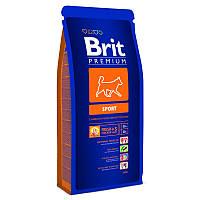 Brit (Брит) Premium Sport корм для собак с высокой активностью 3 кг