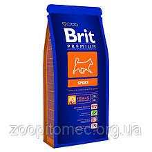 Корм Brit Premium (Брит Преміум) Dog Sport для собак з підвищеними фізичними навантаженнями, 3 кг