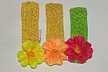 Повязка на голову для девочки Цветок., фото 5