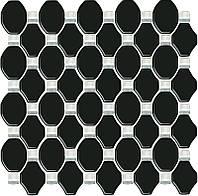 Мозаика Paradyz Secret Mozaika szklana 29,5x29,5 Nero