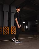 Футболка оверсайз Netero чорна + штани чорні Uzumaki, фото 2