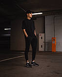 Футболка оверсайз Netero чорна + штани чорні Uzumaki, фото 3