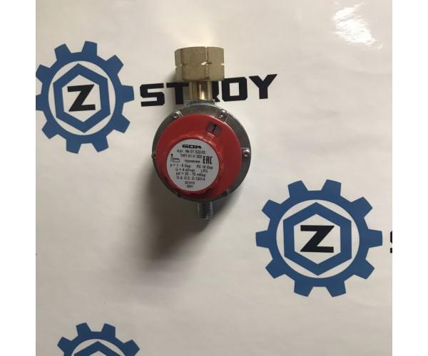 Регулятор низького тиску GOK 61-V500 4 кг/рік 30-70 мбар Komb.Ax вихід G 1/4 LH-KN