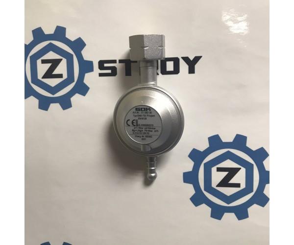 Газовий регулятор низького тиску GOK EN61 1,5 кг/рік 50 мбар Komb.Ax 8-9мм