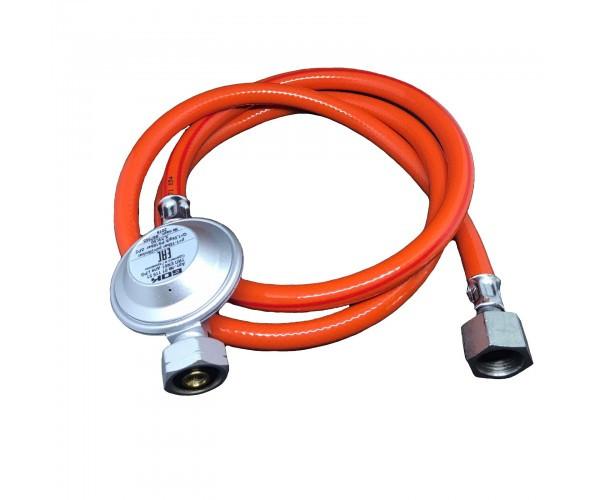 Комплект для під'єднання газового балону GOK Shell 1,5 кг/год 29 (30) мбар G1/2 - 2 метр