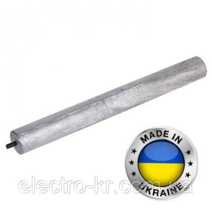 Анод магнієвий d25х200, М8х10 Україна