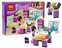 "Конструктор аналог LEGO Friends 3936 Bela ""Дизайн-студия Эммы"" 79 деталей арт.10133"