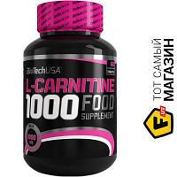 Жиросжигатель BioTech L-Carnitine 1000мг, 60 таблеток