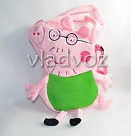 Детская сумка из мультфильма салатовый свинка пеппа
