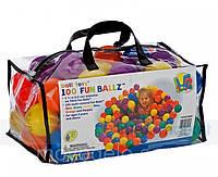 Набор мячиков для сухого бассейна 100шт Intex49602