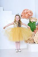 Дитяча сукня Періс (116-122) золото
