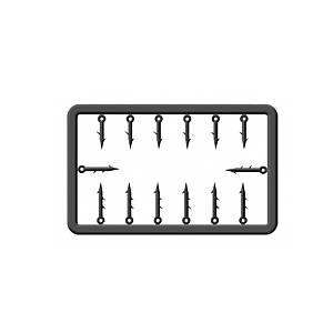 Быстросъемник для бойлов Cralusso -цвях пластик S