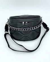 Женская сумка «Пеги» черная Welassie