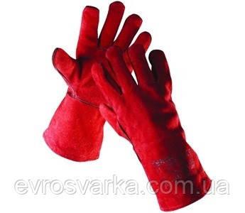 Перчатки с крагами SANDPIPER RED плотные