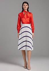 Faberlic Сатинированная блузка цвет красный AmoreMore
