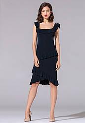 Faberlic жіноча В'язана сукня з воланами Seasons
