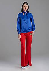 Faberlic Сатинированная блузка цвет синий AmoreMore