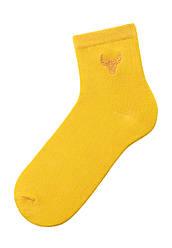 Faberlic жіночі Шкарпетки зі знаком зодіаку Телець жовті