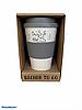 Бамбукова кавова еко To Go Becher гуртка сіра, фото 4