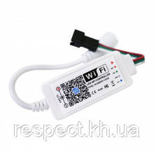 SMART RGB контролер BIOM Wi-Fi 2048px 12-24V 1903; 16703; 2811; 2812B; 6812; 1003; 2801; 1914