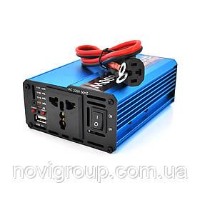 Инвертор напряжения Voltronic, 600W, 60/220V, approximated, 1 универсальная розетка, клемы + USB