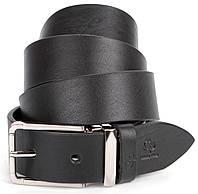 Шикарный мужской кожаный ремень под брюки GRANDE PELLE 00862, фото 1
