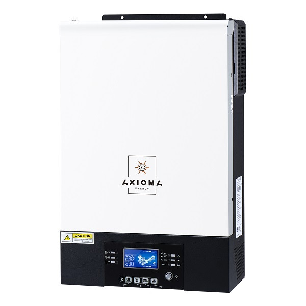 Гибридный ИБП 5000Вт AXIOMA energy, 48В + МППТ на 5кВт, ISMPPT BFP 5000 (Battery Free+Parallel)