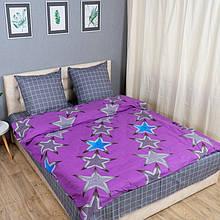 Комплект постельного белья KrisPol «Звезды» 200x220 Бязь Голд