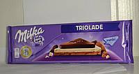 Шоколад Milka Triolade 300 грам, Австрия
