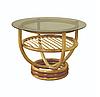 Журнальний столик Марс з Ротанга / ЛОЗА ( ЧФЛИ )