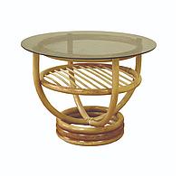 Журнальный столик Марс из Ротанга / ЛОЗА ( ЧФЛИ ), фото 1