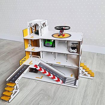 Гараж-парковка NestWood с лифтом Mini желтый