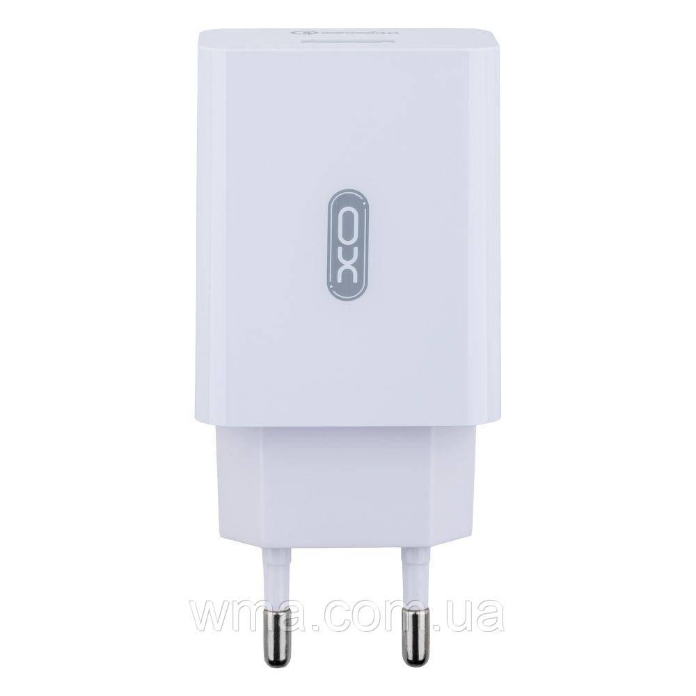 Сетевое Зарядное Устройство XO L36 QC3.0 Цвет Белый
