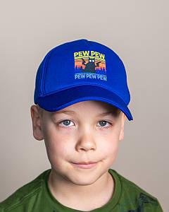 Кепка на весну-літо для хлопчика електрик оптом - PEW PEW