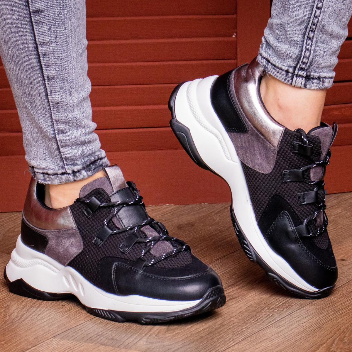 Жіночі кросівки Fashion Bruiser 1659 36 розмір 23 см Чорний
