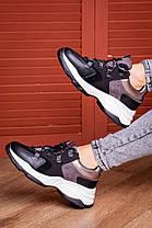 Жіночі кросівки Fashion Bruiser 1659 36 розмір 23 см Чорний, фото 2