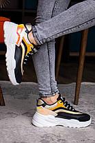 Женские кроссовки Fashion Ferris 1760 36 размер 23 см Черный, фото 2