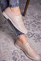 Женские туфли Fashion Lippy 1755 36 размер 23 см Бежевый, фото 2