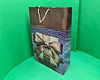 Бумажные пакеты гиганты вертикальные(30х42х12)(артGV-057) (12 шт), фото 1