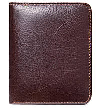 Чоловіче портмоне mini глянсове 20245 Vintage Коричневе