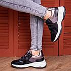 Жіночі кросівки Fashion Bruiser 1659 36 розмір 23 см Чорний, фото 3