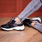 Жіночі кросівки Fashion Bruiser 1659 36 розмір 23 см Чорний, фото 5