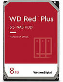 HDD SATA 8.0 TB WD Red Plus 7200rpm 256MB (WD80EFBX)