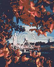 Картини за номерами міста пейзаж 40х50 Контрактова Площа