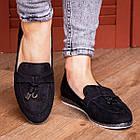 Жіночі слиперы Fashion Venus 1777 36 розмір 23 см Чорний, фото 2