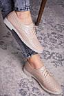 Женские туфли Fashion Lippy 1755 36 размер 23 см Бежевый, фото 4
